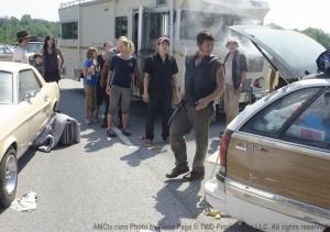 The Walking Dead camper vehicle