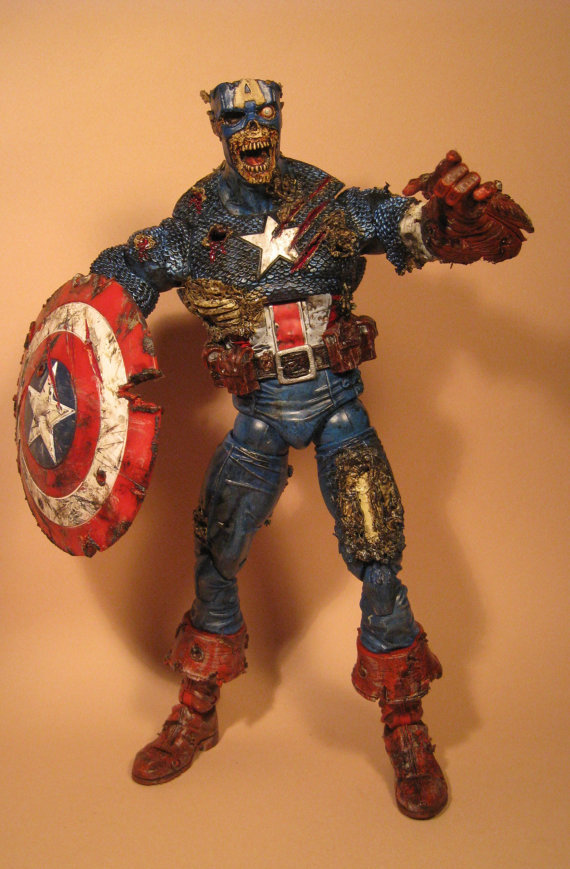 marvel zombie captain america