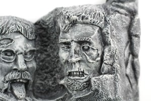Abraham Lincoln Zombie | Zombie Mount Rushmore