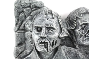 George Washington Zombie | Zombie Mount Rushmore