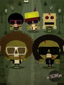 Zombie LMFAO - Zombie Illustration