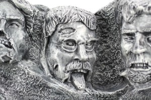 Theodore Roosevelt Zombie | Zombie Mount Rushmore