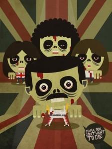 Zombie Queen - Zombie Illustration