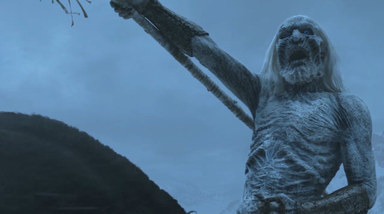 White Walker Zombie King | Game of Thrones Season 2 Finale