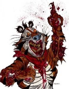 Tony the Tiger Zombie | Zombie Art
