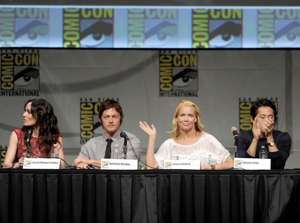 Comic Con 2012 The Walking Dead Cast Panel 4