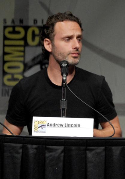 Comic Con 2012 The Walking Dead Cast Panel - Rick Grimes