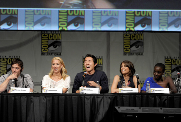 Comic Con 2012 The Walking Dead Cast Panel 3