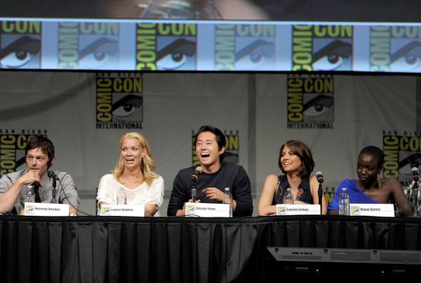 Comic Con 2012 The Walking Dead Cast Panel 3