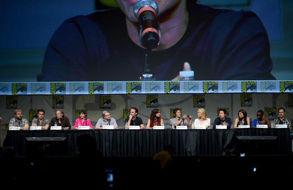 Comic Con 2012 The Walking Dead Cast Panel Pic