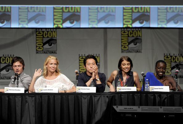Comic Con 2012 The Walking Dead Cast Panel 1