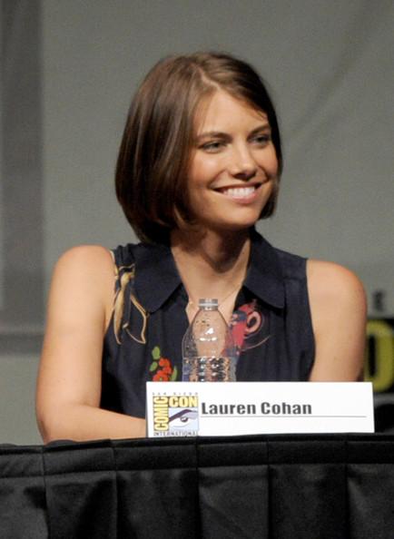 Comic Con 2012 The Walking Dead Cast Panel - Maggie