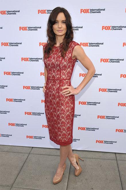 The Walking Dead Comic Con 2012 - Lori on red carpet