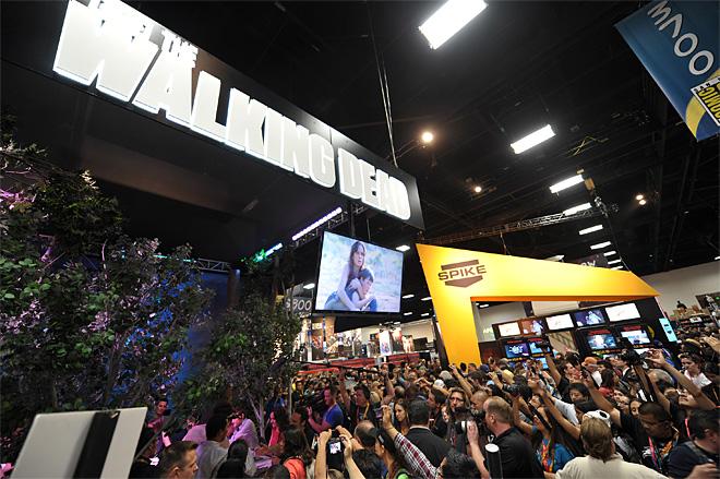 Comic Con 2012 The Walking Dead Cast