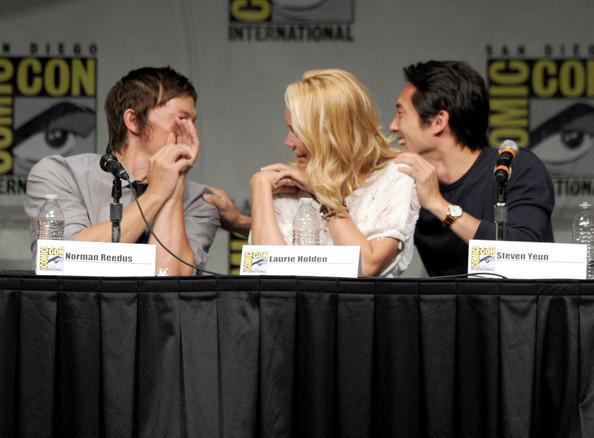 Comic Con 2012 The Walking Dead Cast Panel
