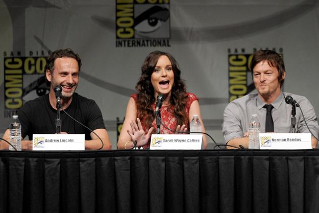 Comic Con 2012 The Walking Dead Cast Panel - Lori Grimes