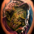 Zombie Brains Tattoo