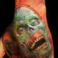 Stylized Zombie Tattoo