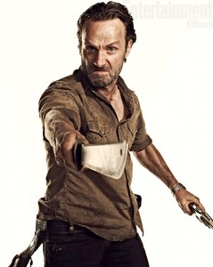 The Walking Dead Season 3 Rick Grimes