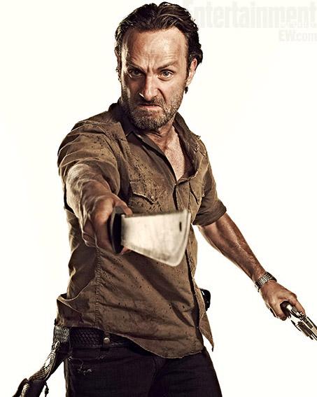The Walking Dead Season 3 Zombie Teaser Photos