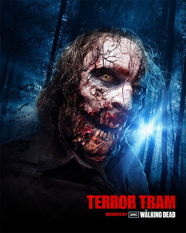 Terror Tram | Universal Studios Zombie Attraction