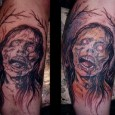 Zombie Art Tattoo
