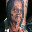 Bill Murray Zombie Tattoo
