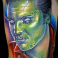 Elvis Zombie Tattoo