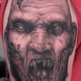 Evil Zombie Tattoo
