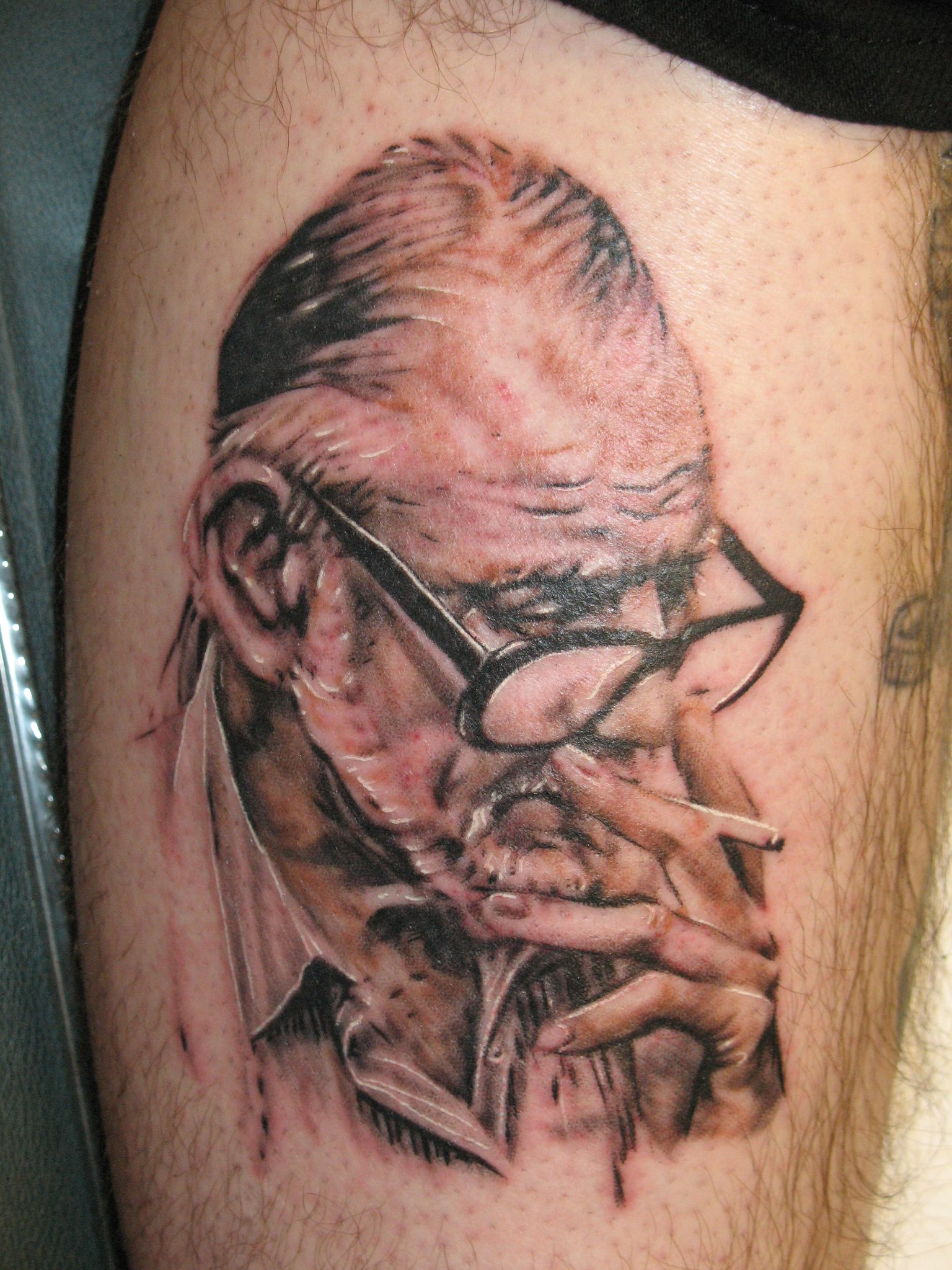 George Romero Tattoo