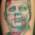 JFK Zombie Tattoo