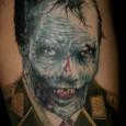 Nazi Zombie Tattoo