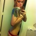 Sexy Zombie T-Rex Tattoo
