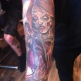Decayed Zombie Girl Tattoo