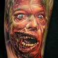 Terrifying Zombie Tattoo