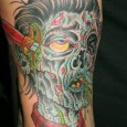 Illustrated Zombie Tattoo
