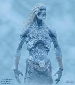 White Walker Concept Art by Martin Rezard Art