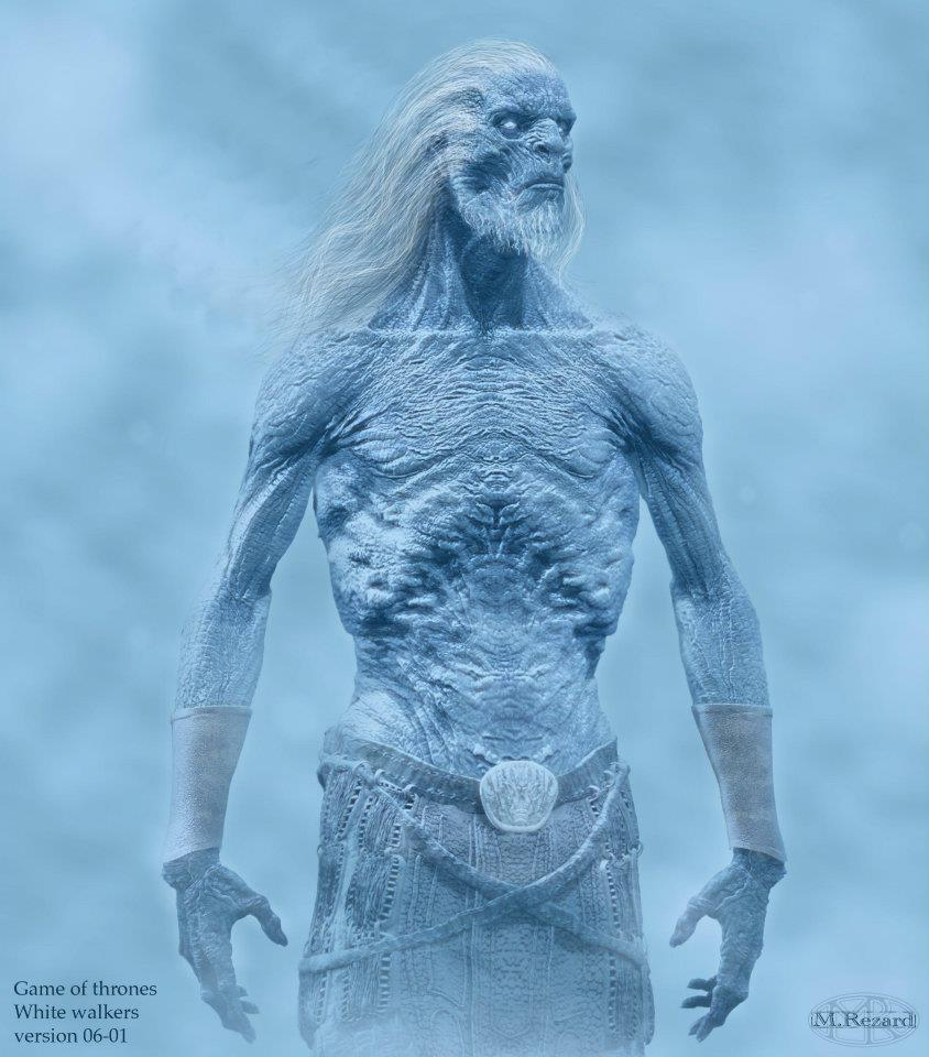 Game Of Thrones White Walker Concept Art