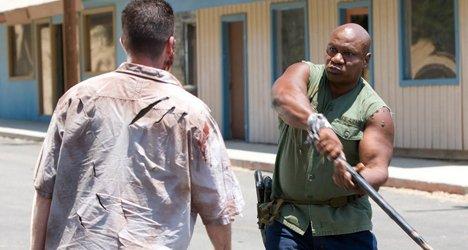 Ving Rhames zombie killing