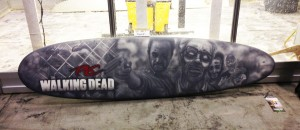 The Walking Dead Surfboard