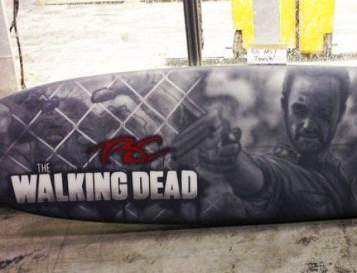 The Walking Dead Surfboard