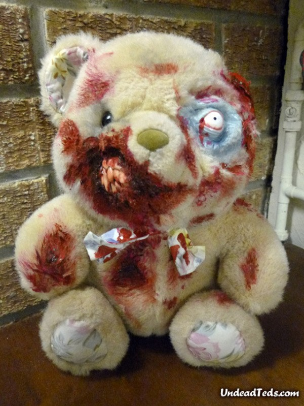 Zombie Teddy Bears For Valentineu0027s Day
