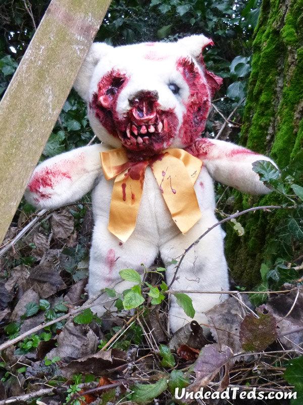 zombie teddy bear | valentine's teddy