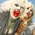 pinup blonde zombie girls