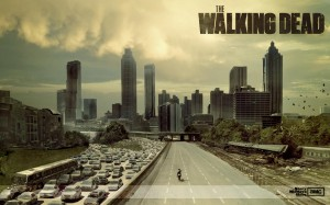 The Walking Dead Zombie Wallpaper