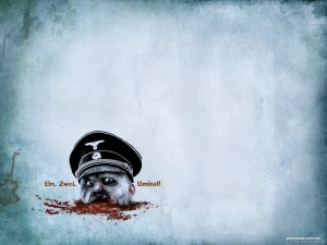 nazi zombies dead snow Zombie Wallpaper zombie head in snow