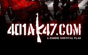 401Ak47 A Zombie Survival Plan Wallpaper