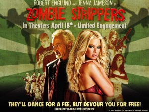 zombie jenna jameson sexy zombie wallpaper - zombie strippers movie
