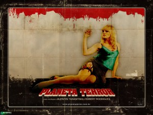 Planet Terror Dr. Dakota Sexy Zombie Wallpaper