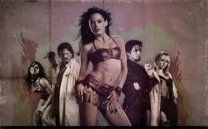 Cherry Darling Planet Terror Sexy Zombie Wallpaper